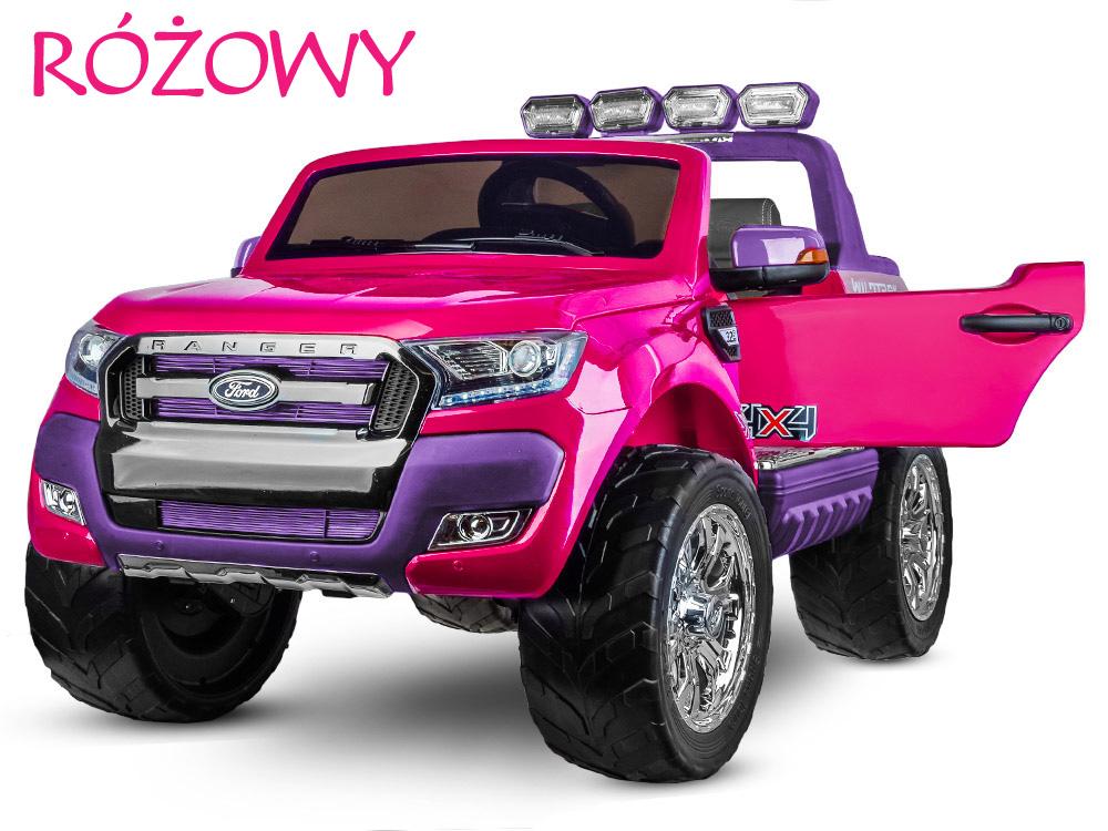 ford ranger dla dzieci różowy